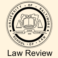 Law Review logo