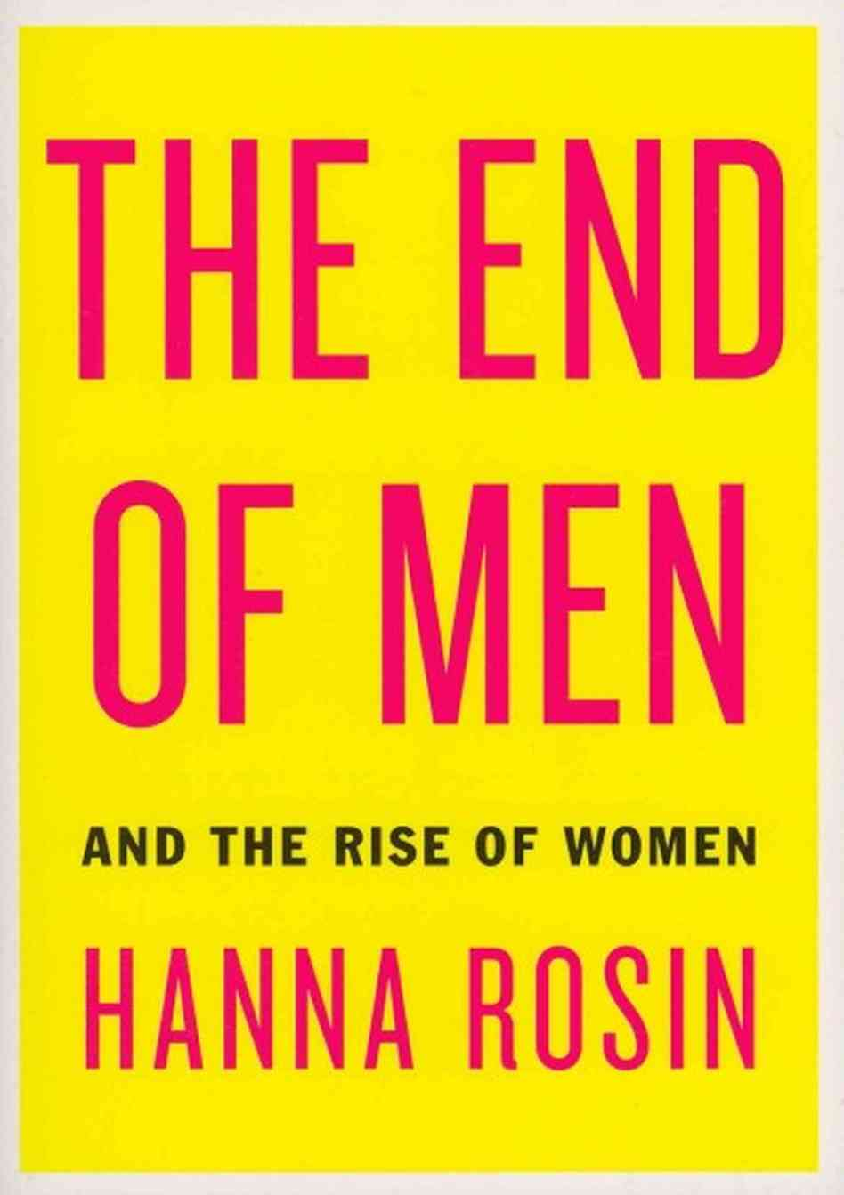 end of men book cover