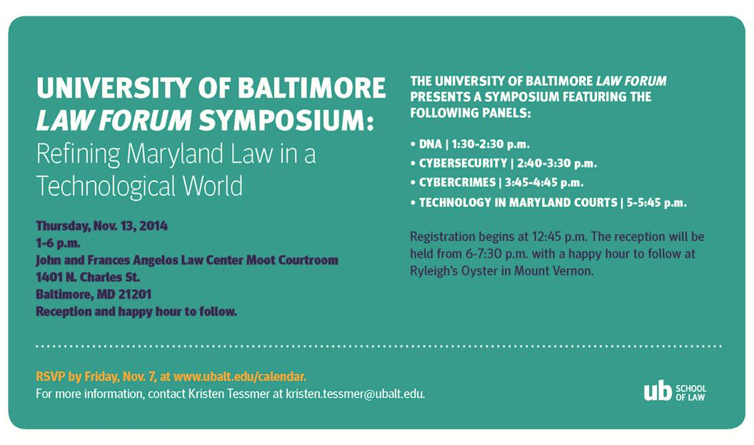 Law Forum Symposium