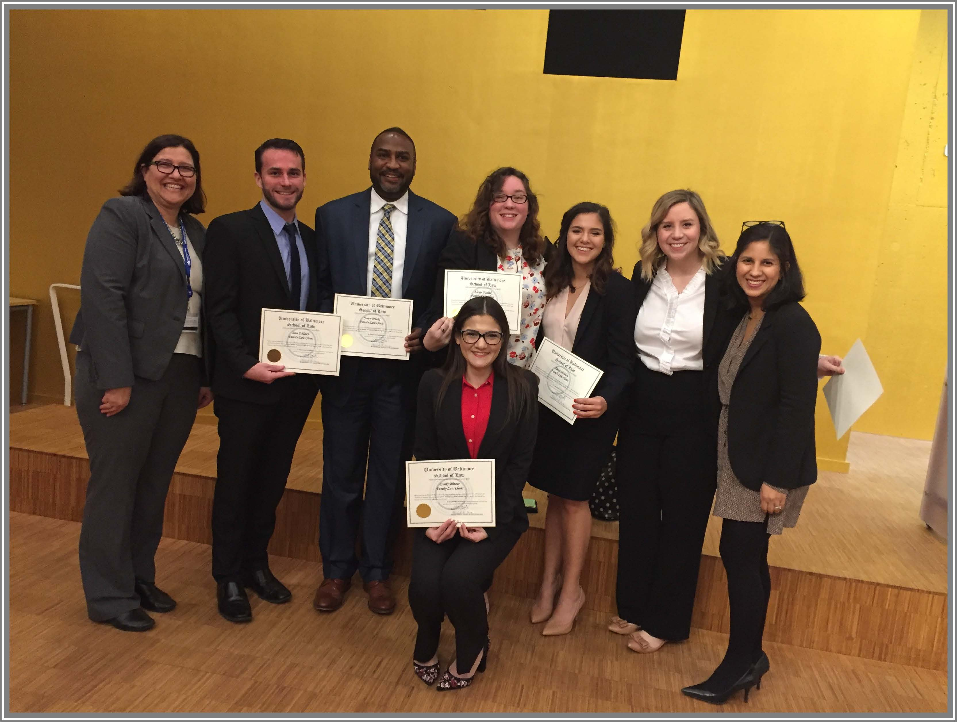 Family Law Clinic Student Attorneys