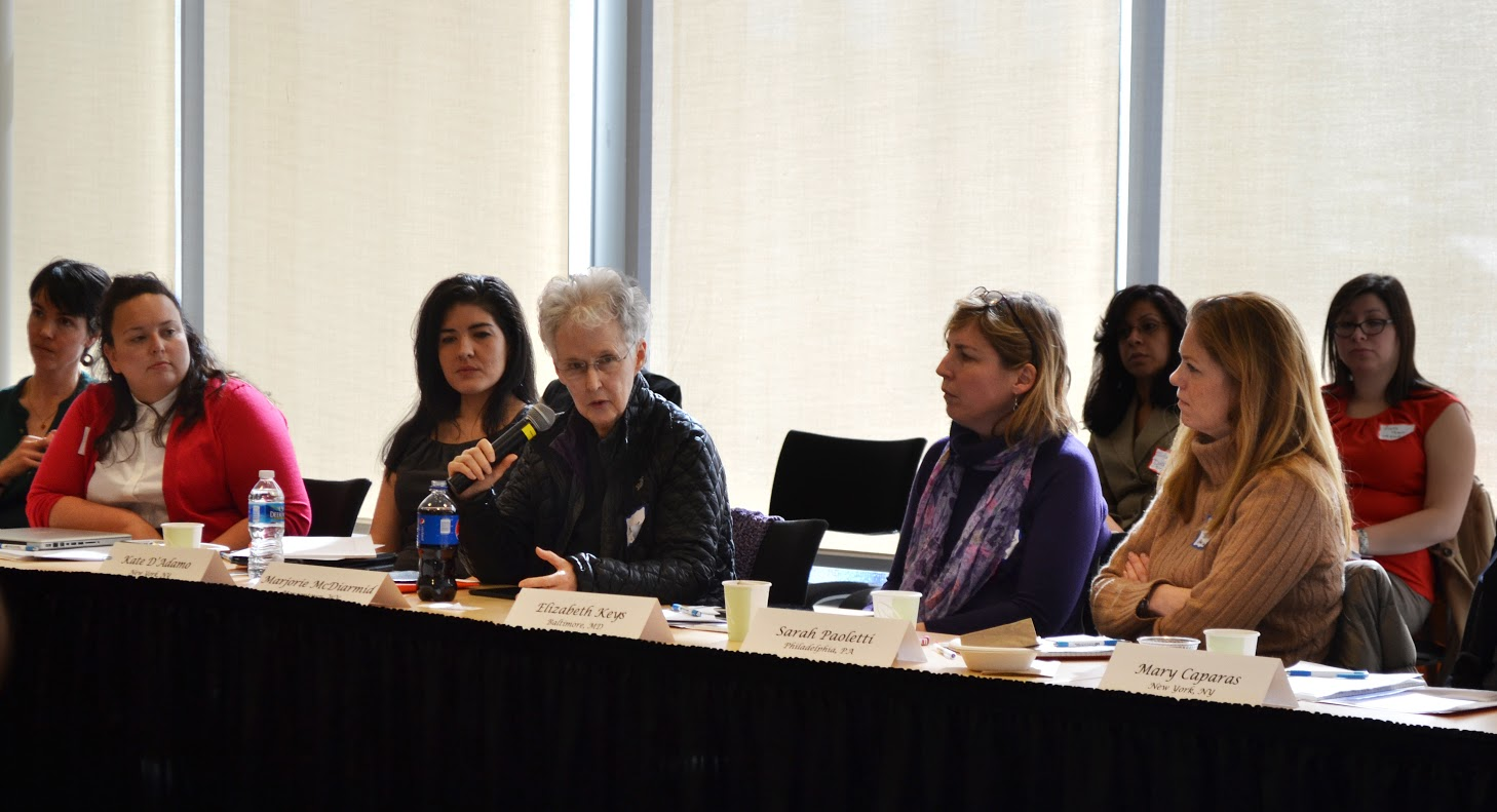 panel members at anti-trafficking roundtable